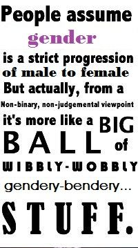 #gender #genderqueer #nonbinary (it's gay and doctor who related at the same time! ;D )