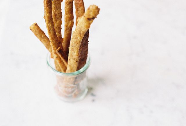 ... Wheat Cheese Straws with aleppo pepper, parmesan and cheddar cheese