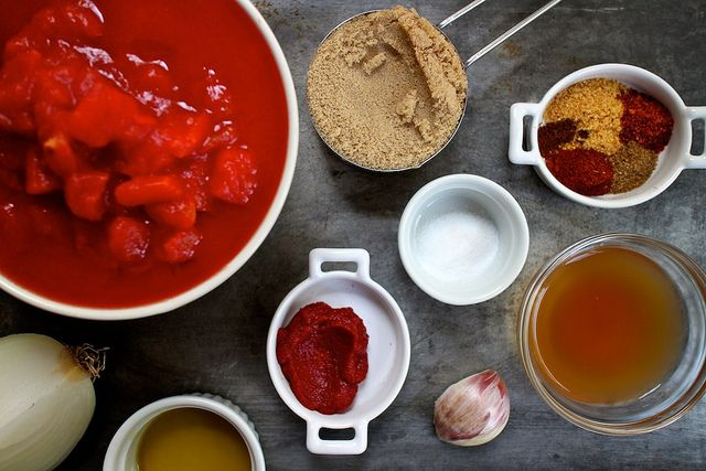 Homemade Spicy Ketchup by joy the baker, via Flickr