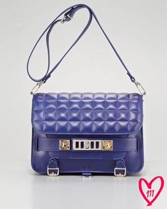 BG 111th Anniversary PS11 Classic Bag, Purple by Proenza Schouler at Bergdorf Goodman.