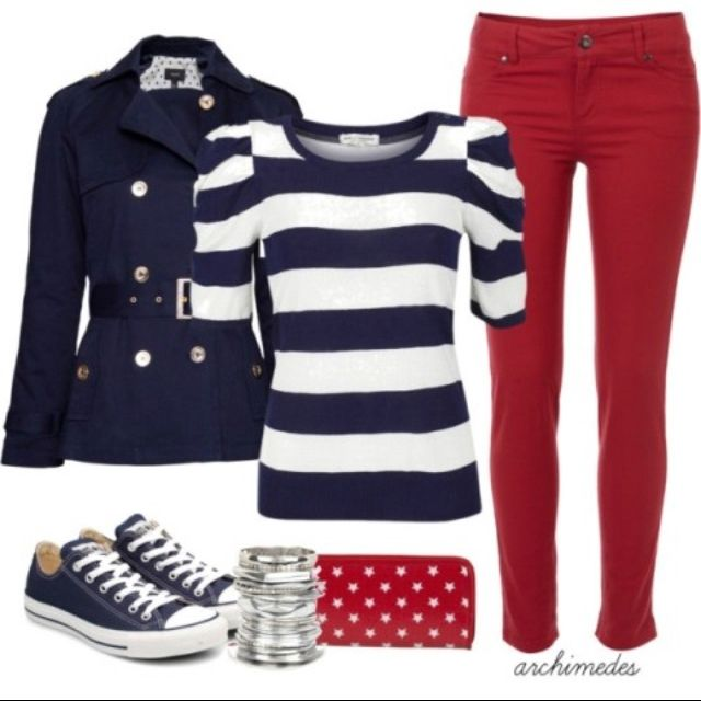 4th of july- except the jacket