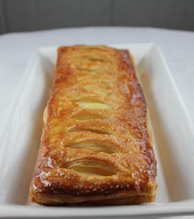 Maple Glazed Apple Tarts with Homemade Puff Pastry - That Skinny Chick ...