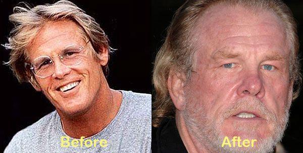 Aging... Nick Nolte
