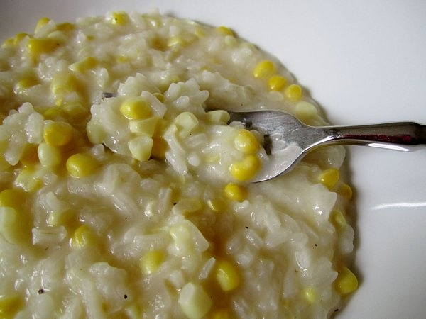 Fresh Corn Risotto | Side dishes to savor! | Pinterest