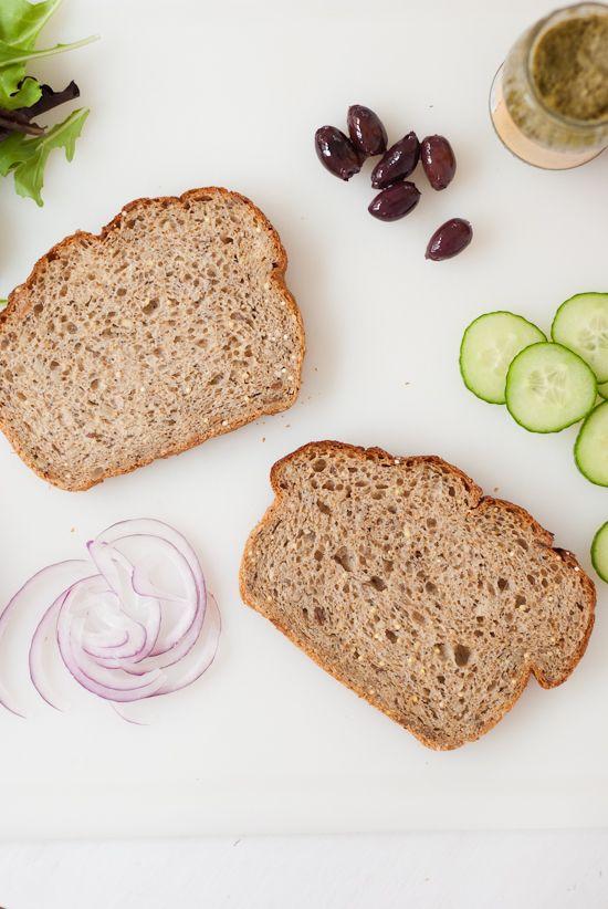 Simple Greek Avocado Sandwich   Recipe