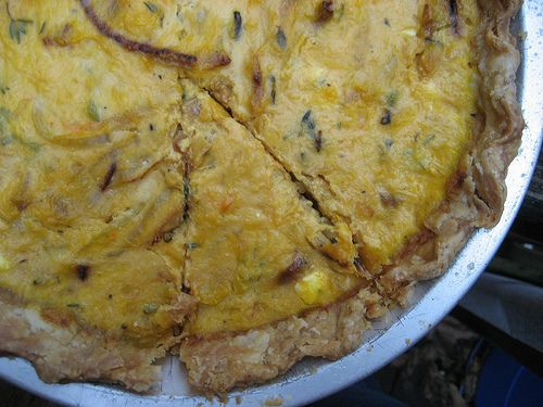 Winter Squash and Caramelized Onion Tart | Food | Pinterest