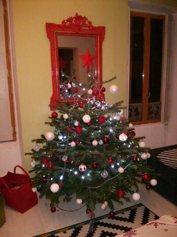 Arbre de noel d coration int rieure pinterest - Decoration arbre de noel ...