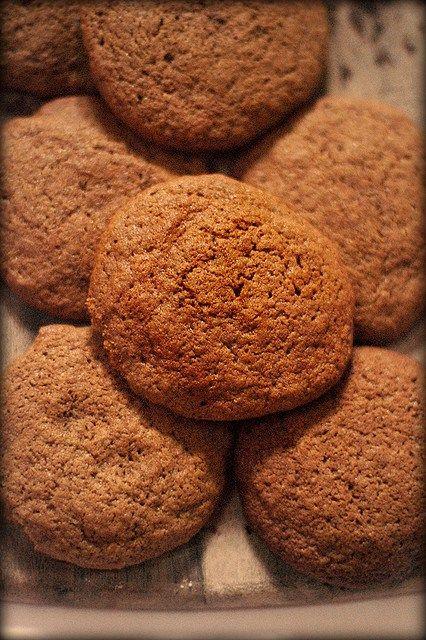 spicy molasses cookies   Food   Pinterest