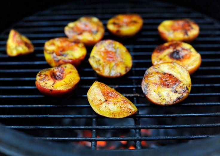 Grilled peaches | Paleo -- Desserts | Pinterest