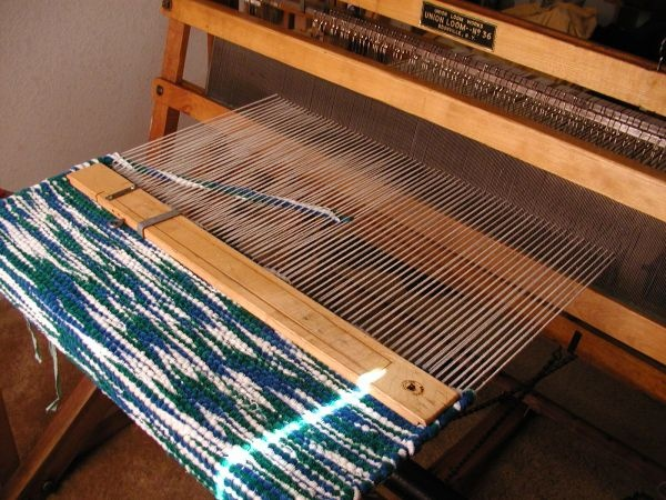 Rug Loom (Union 36) - Solid Maple Warped & ready to weave!  $300