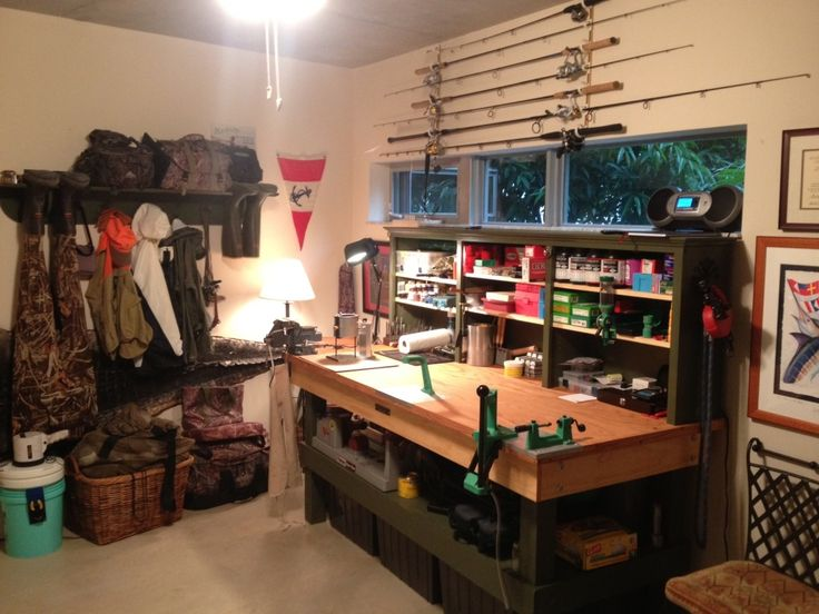 Man Cave Powder Room : Man stuff reloading room user rca cave