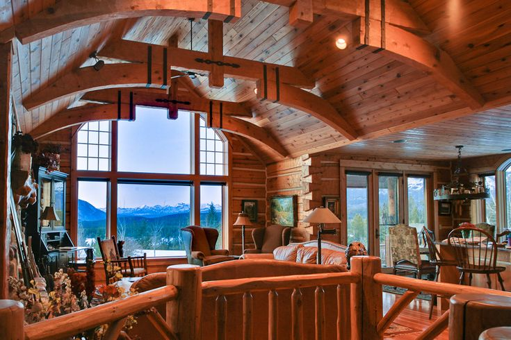 Pin by amanda vandergriff on montana pinterest for Cabin builders montana