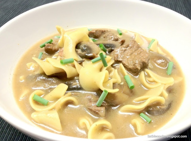 Beef Stroganoff Soup | Soups and sauces | Pinterest