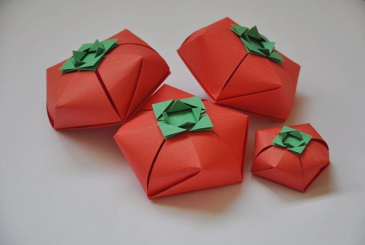 tomato origami boxes design carlos bocanegra video