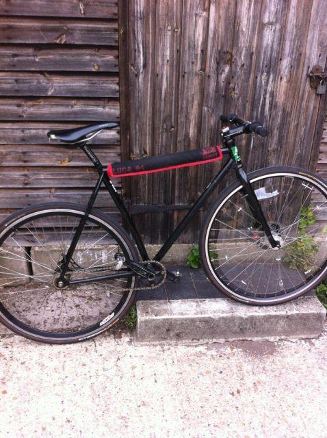 Velvet polo bike