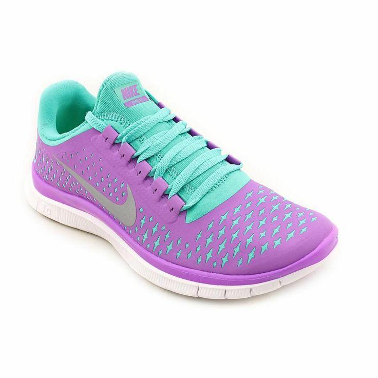 Nike Free 3.0 V4 Womens Purple Running Shoes Size No Box UK 3.5