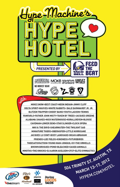 Hype machine party days of awesome music click on the poster for