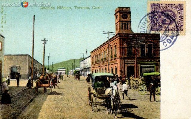 Av Hidalgo ca. 1920
