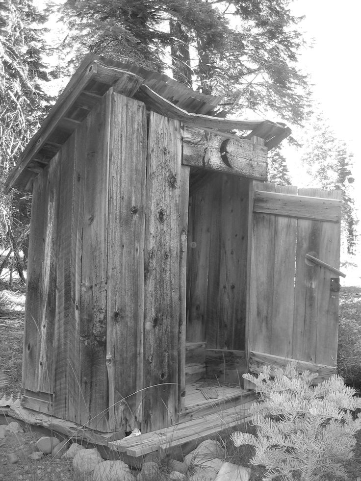 Outhouse outhouses pinterest for Outhouse pictures