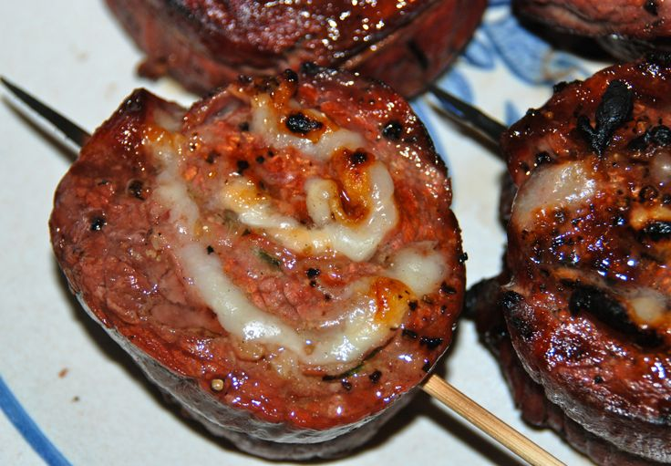 Grilled stuffed flank steak | Beef | Pinterest
