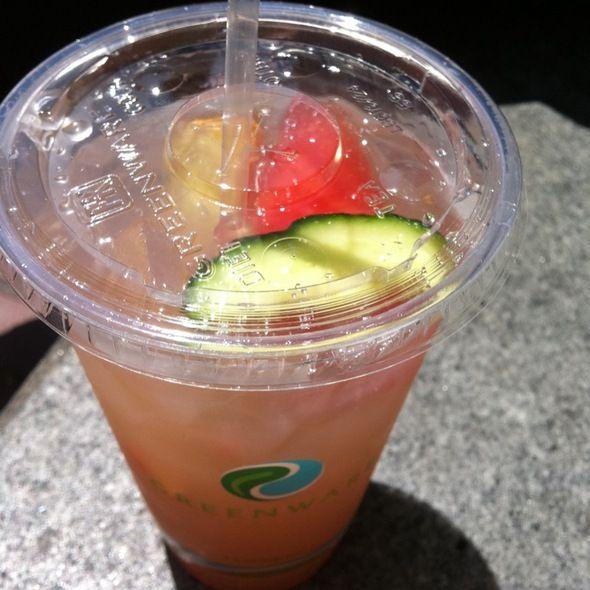 Watermelon Cucumber Basil Lemonade @ Chef Ryan Scott's 3-SUM Eats Food ...