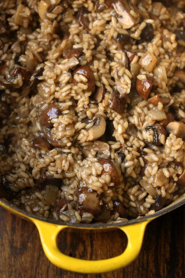 Wild Mushroom And Clam Risotto Recipe — Dishmaps