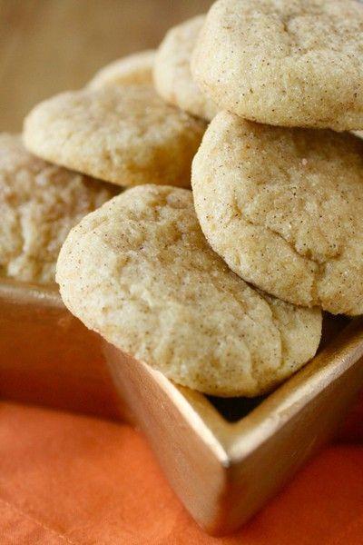 Pumpkin Snickerdoodles #pumpkin #cookies | Desserts! | Pinterest