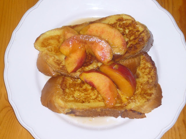 Peach French Toast | For the Stomach | Pinterest