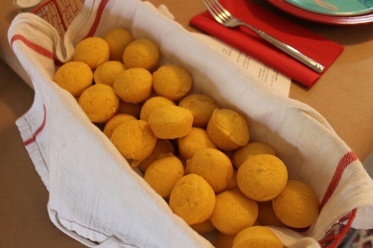 Mini Cornbread Muffins - from scratch & the perfect size!
