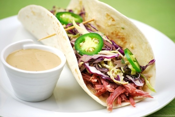 Corned Beef Tacos for St. Patty's Day