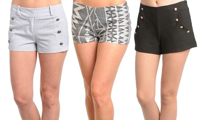 Women's Fashion Shorts Deal of the Day $12.99