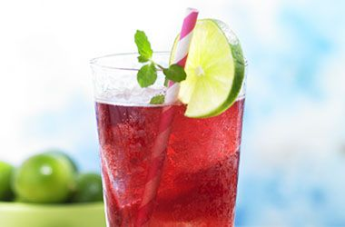 Light Grape Lime Rickey | Drinks, Shakes & Smoothies | Pinterest