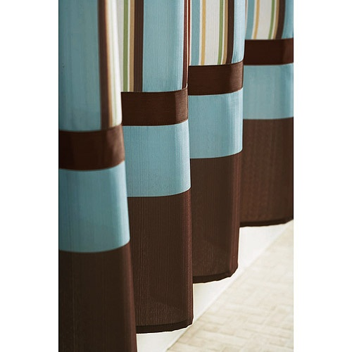 Better homes and gardens classic stripe shower curtain Better homes and gardens shower curtains