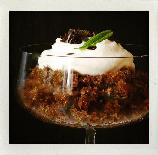 Espresso granita with a little bit of fluffy whipped cream (I huvudet ...