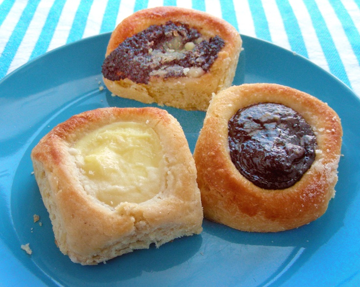 Cream, prune and poppy seed kolaches from Bohemian Cafe
