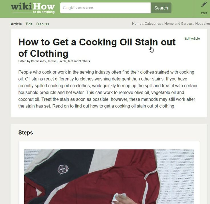 How to get vegetable out of clothes 28 images vanish for Get oil stain out of white shirt