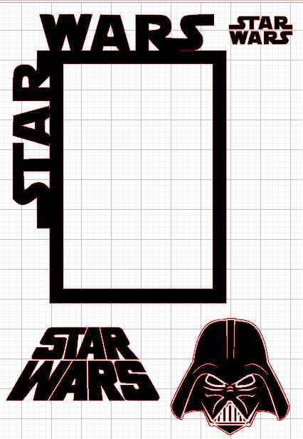 star wars picture frame  eBay