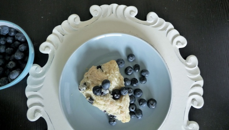 Blueberry Almond Scones | Breakfast | Pinterest