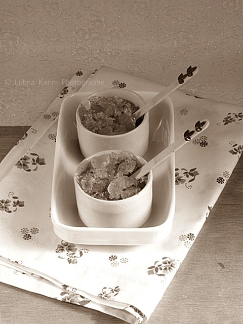 CARDAMOM FLAVOURED ICED TEA GRANITA | Ice Cream | Pinterest