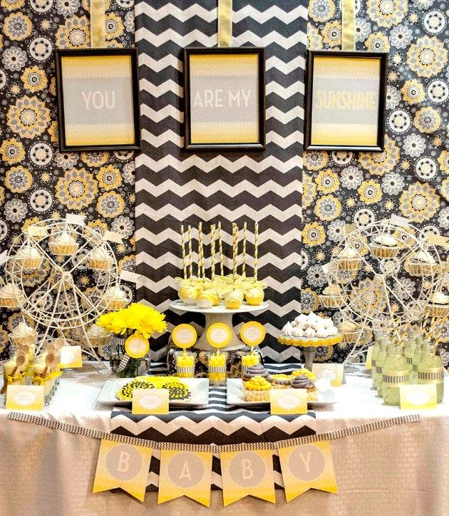you are my sunshine dessert table guest feature