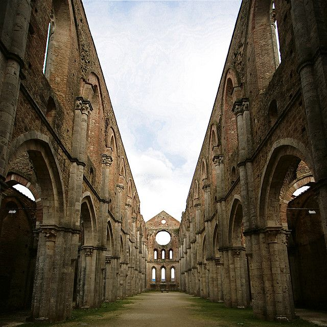 Monticiano Italy  city pictures gallery : SAN GALGANO, Monticiano Tuscany Italy | Italy | Pinterest