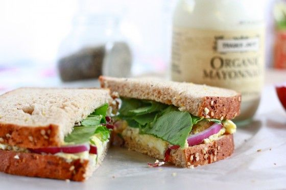 Egg Salad Sandwich - great light lunch or hot summer dinner (use light ...