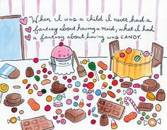 """Candy fantasy 