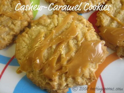 Martha Stewart's Cashew-Caramel Cookies | Cookie Exchange ...