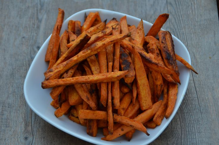 baked chipotle sweet potato fries | Favorite Recipes | Pinterest