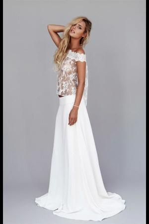 Robe de mariee creatrice - Rime Arodaky  Robe de Mariée... ...  Pin ...