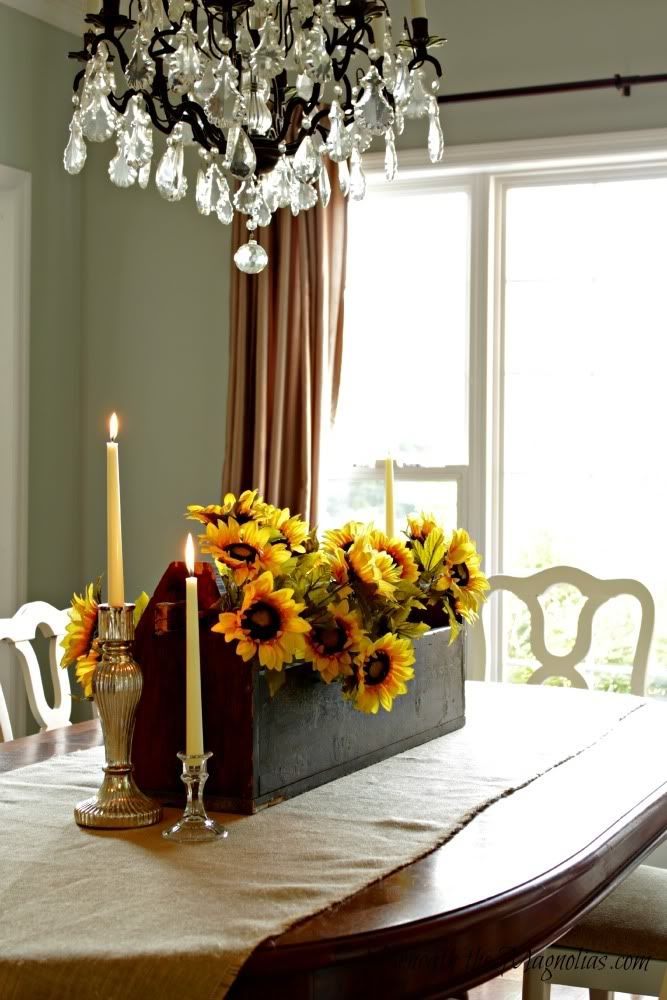 fall dining room centerpiece home ideas