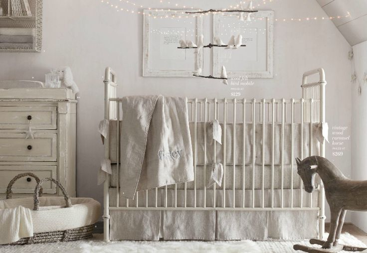 restoration hardware baby  Nursery ideas  Pinterest