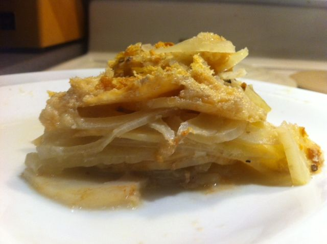 Celery Root and Fennel Gratin | Food | Pinterest