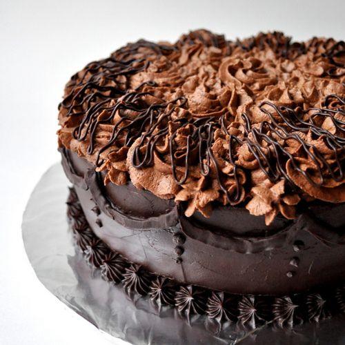 Images Of Beautiful Chocolate Cake : Beautiful chocolate cake Food Pinterest